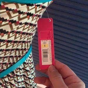 Xhilaration Dresses - Xhilaration Aztec style strapless dress with belt